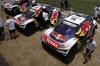 Peugeot 3008 DKR на челните три места след като отборите достигнаха средата на Дакар и деня за почивка