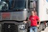 """Пламен Иванов от Плевен спечели титлата """"Най-ефективен шофьор на камион"""" в Optifuel Challenge 2017"""