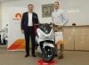 Ромпетрол подари първия скутер Honda от лятната си промоция